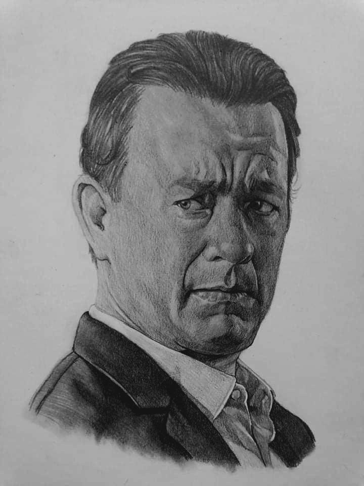 Tom Hanks by Exalion